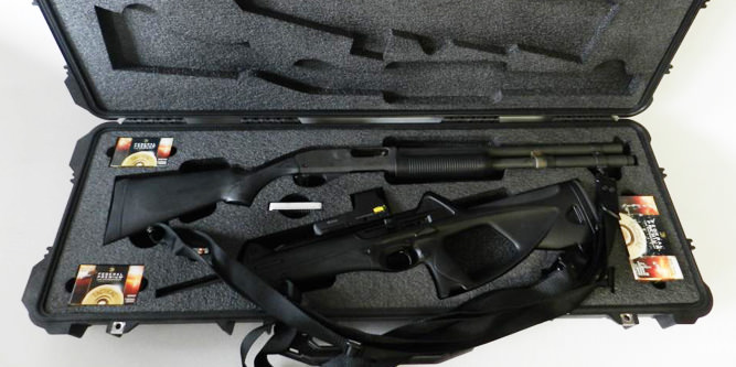 Custom to fit cases and foam for any firearms